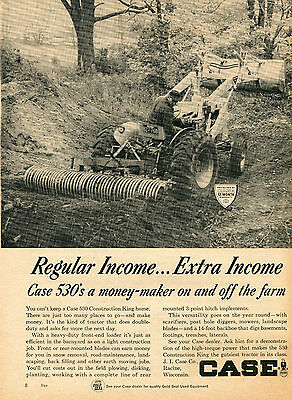 1975 XLARGE Print Ad of Case 2670 Traction King Farm Tractor