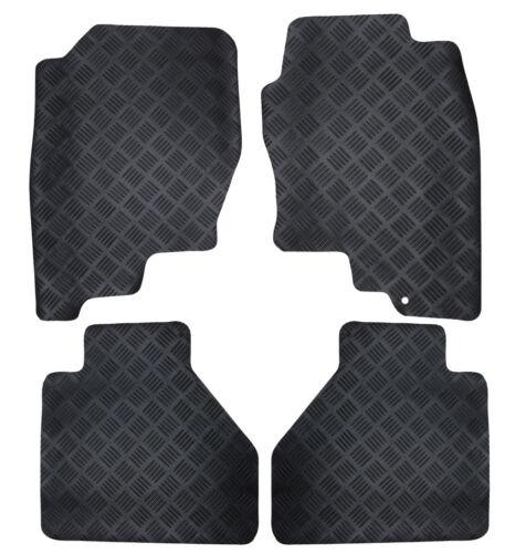 Perfect Fit Black Durable Rubber Car Floor Mats for Jaguar XJ SWB 2010/> X351
