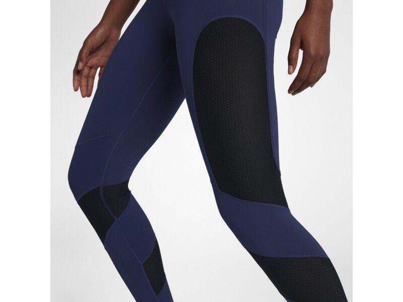 Mujeres Nike Power mediados  de subida de formación de bolsillo Lux Calzas X Pequeño 890668-429  grandes ahorros