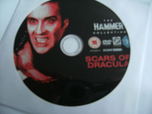 1 of 1 - Scars Of Dracula (DVD, 2007) Hammer. Christopher Lee. ' Disc Only '. Freepost.