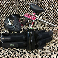 Azodin Blitz Evo Legendary Paintball Marker Gun Package Kit - Red/silver