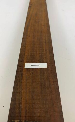 "1//2/"" x 1 1//2/"" x 16/""  Beautiful Cocobolo,Thin Stock Lumber Boards Wood Crafts"