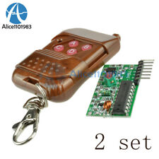 2pcs Ic 22622272 4ch 315mhz Wireless Remote Control Receiver Module For Arduino