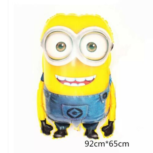 2PS Balloon Large Size Foil Cartoon Minions Inflatable Birthday Party Decoration