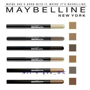 MAYBELLINE-Brow-Satin-Eye-Brow-Eyebrow-Duo-Pencil-amp-Filling-Powder-Please-Choose