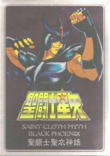 Saint Seiya Cloth Myth Black Phoenix Metal Plate V2 NEW