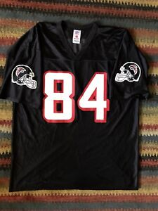new arrival 6b6a7 caf55 Details about Roddy White Atlanta Falcons Black Red Nfl Jersey Menx Xl  Great Condition
