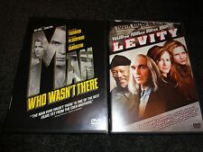 THE MAN WHO WASN'T THERE & LEVITY-2movies-BILLY BOB THORNTON,FRANCES McDORMAND