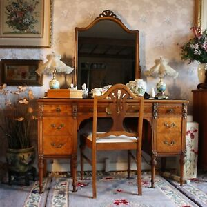 Details About Sligh Furniture Co 6 Pc French Louis Xvi Bedroom Suite W Hand Painted Flowers