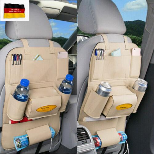 Rückenlehnentasche Rückenlehnenschutz Auto Rücksitz Organizer Pack Bag Kinder DE