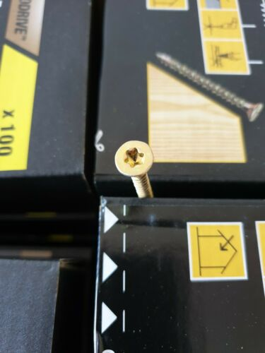 Turbodrive screws