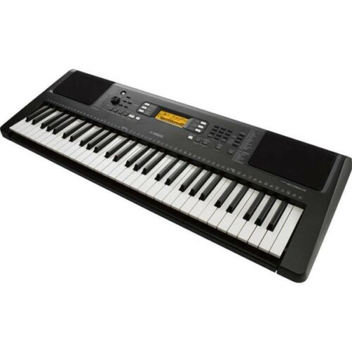 Up To 500 Instruments Yamaha PSRE363 61-Key Portable Keyboard /& Power Adapter