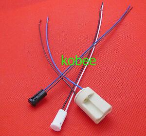 LED Bulb Down Light Fitting Halogen G4 Base Black Lamp Holder Socket /& Cable