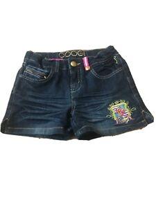 COOGI-Girls-Blue-Denim-Jean-Shorts-Sz-6X