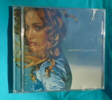 RAY OF LIGHT by MADONNA, factory sealed CD with a crack on case