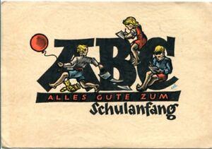 uralte-AK-Alles-Gute-zum-Schulanfang-3-Kinder-sitzen-auf-ABC-Buchstaben