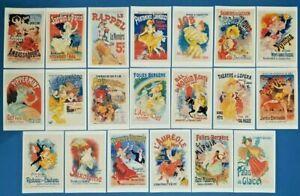 Set-of-100-NEW-Art-Nouveau-Poster-Postcards-for-Postcrossing-Postcardsofkindness