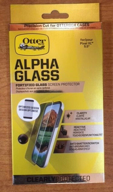 """Otterbox Alpha Protection d'écran verre clairement protégés pour Google Pixel XL 5.5"""""""
