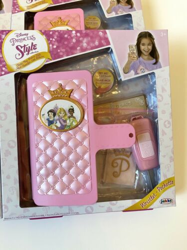 Disney Princess Style Collection Wristlet Play Phone Kid Toy