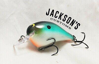 "Jackson/'s Customs Custom Painted Spro RkCrawler 55 in /""Ozarks Craw/"" Crankbait"