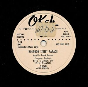 DUKES-of-DIXIELAND-on-1953-Okeh-6958-Promo-Bourbon-Street-Parade-339-Rag