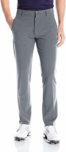 Adidas-Golf-Men-039-s-Ultimate-3-Stripe-Pant-in-Vista-Grey-9810-Size-36x34