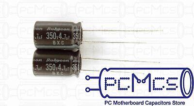 2 Pcs Rubycon BXA series 350V 33UF Japan Make Long Life Power Supply Capacitor