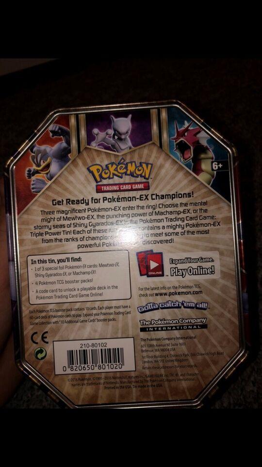 Pokemon kort dåse, Pokemon kort, andet spil