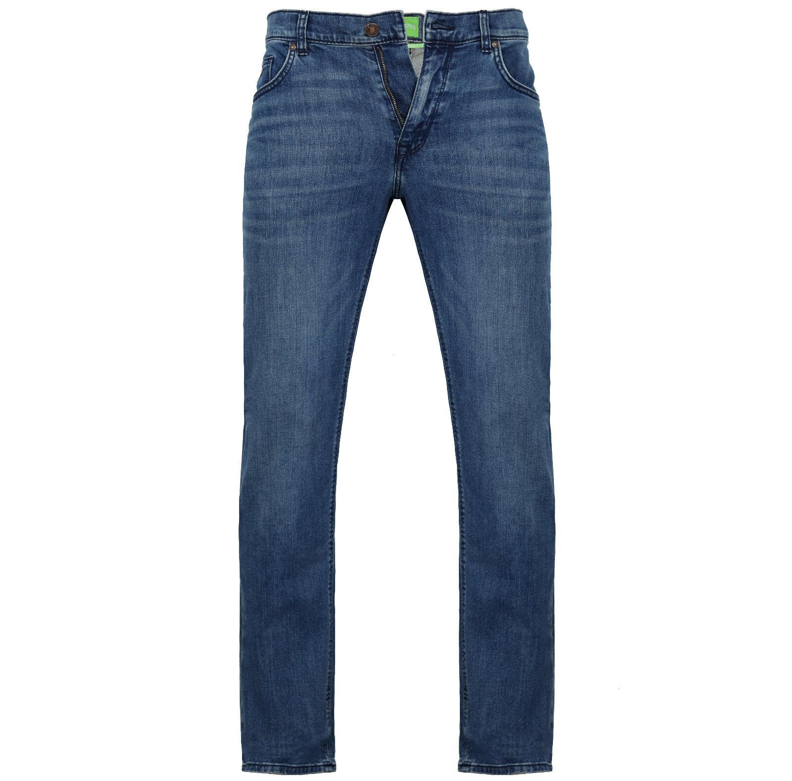 HUGO BOSS  Green Hose Jeans C-MAINE1  W32 L34  NEU  STRETCH