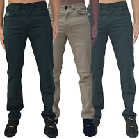 Mens Voi Jeans Twill Pant Slim Designer Stretch Stylish Chinos Trousers Skinny