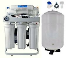 RO  Reverse Osmosis Water Filter System 150 GPD - Booster Pump - 10 Gallon Tank