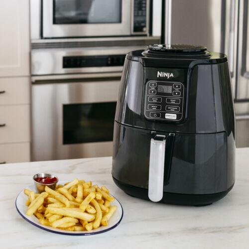 Ninja 4 quart Air Fryer Black 1550 Watt Brand New French Fry Kitchen Cooker