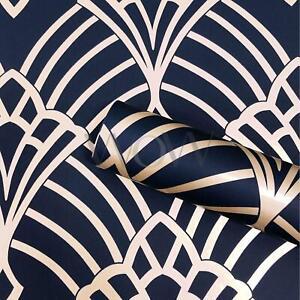 Waldorf-Deco-Papier-Peint-Paillette-Marine-Dore-world-of-wallpaper-274447