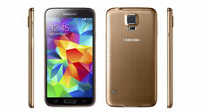 Unlocked Samsung Galaxy S5 SM-G900A 16GB 4G LTE GSM WORLD Phone in GOLD Color