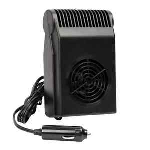 Portable 12v Visor Mounted Vehicle Car Truck Rv Heater Fan