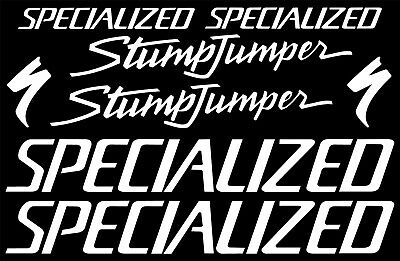 STUMPJUMPER  SPECIALIZED STICKER DECALS  STUMP JUMPER    ANY COLOR