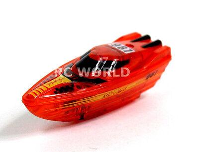 Remote Control RC Micro SPEED BOAT MINI RC Boat  Aquarium Toy + Free Batteries