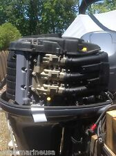 """2002 Yamaha Four-Stroke 225HP 25"""" Shaft Outboard Motor  FOR PARTS OR REBUILD"""
