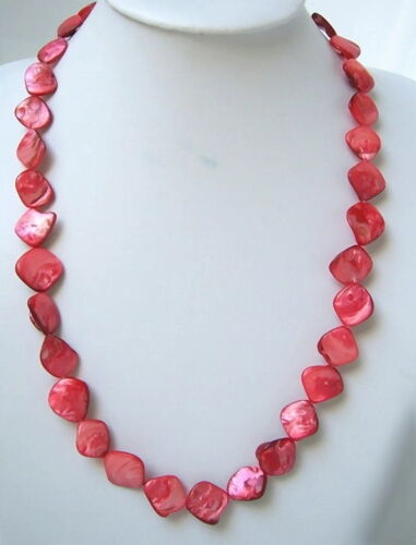 verdadera madreperla-cadena joyas puntitos nuevo K 10