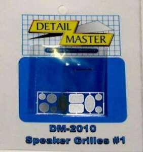 - Plastic Model Vehicl 673409020100 5 Sets Detail Master Speaker Grilles #1