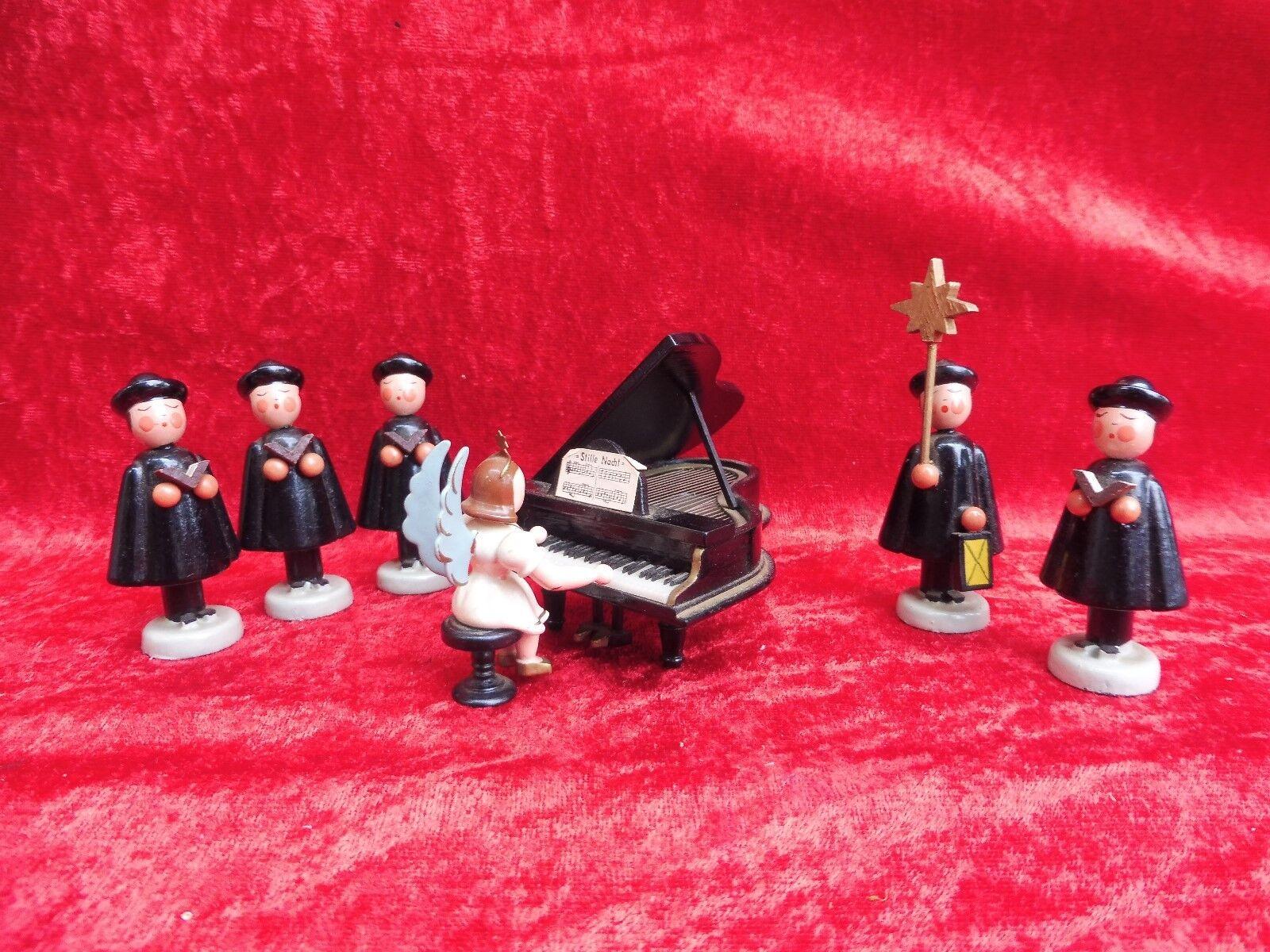Belle,Antique Erzgebirgefiguren__ Ange Am Piano __ Sternens nger__Kurrens nger _ _ nger 199e13