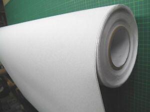 ca 120 cm a 50 cm PVC Antirutschfolie  weiß selbstklebend
