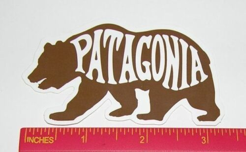 FREE Shipping Patagonia 'Bear' Sticker Decal Stickers
