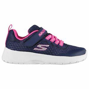 Skechers-Kids-Girls-dynamight-MEMORY-FOAM-Bambino-Scarpe-da-ginnastica-corridori-traspirante