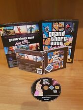 BIG BOX Grand theft Auto Vice City GTA VC Collectors PC game