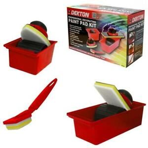 Decorating-Paint-Pad-Easy-Wall-Painting-Set-Kit-Tray-Edge-Corner-Sponge-Roller