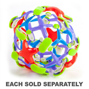 Novelty-Multi-Coloured-Extendable-Ball-Grows-and-Shrinks-as-it-Opens-and-Shuts