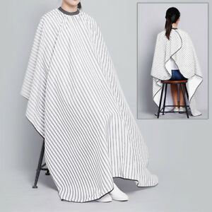 Details about Salon Hair Cut Hairdressing Barbers Cape Gown Adult Hair  Cutting Cloth Apron