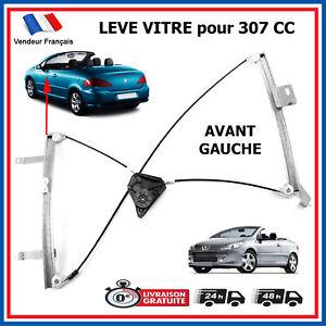 Leve-Glace-Vitre-Electrique-Avant-Gauche-pour-PEUGEOT-307-CC-Cabriolet-9221W0
