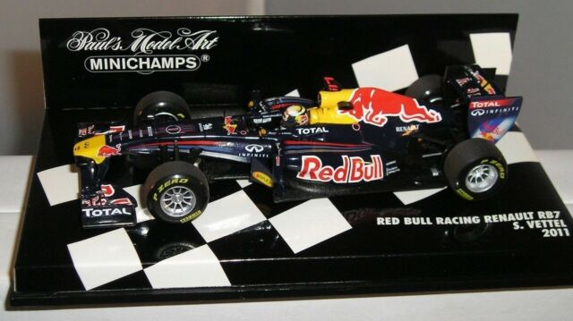 Minichamps 410110001 Red Bull Racing Renault RB7 F1 COCHE 2011S Vettel 1:43